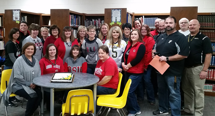 Fairview Middle School was Given the Momentum Award!